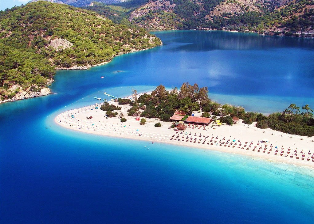 Ölüdeniz (Blue Lagoon) Beach, Fethiye, Turkey - Positive ...