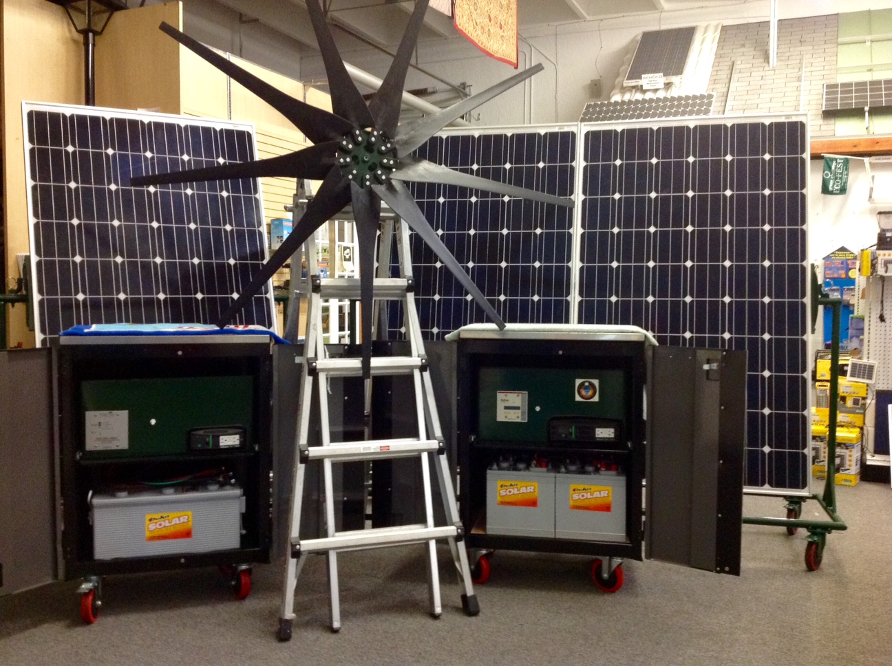 Missouri Wind And Solar Turbine Green Energy Articles Dumpload Charge Controller Ipp Solarwind Uses A With The Rectifier Wiring