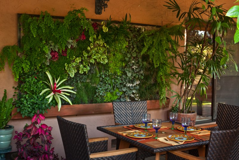 Dinner Table Living Wall Art
