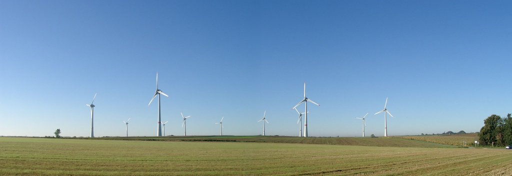 Enercon E-126 Wind Turbine - Wind Farm