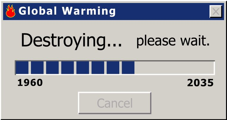 Global Warming Progress Bar