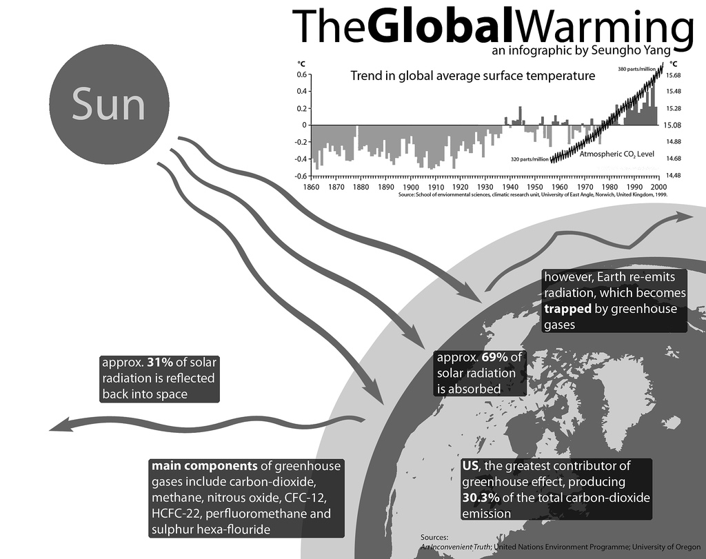 The Global Warming Infographic
